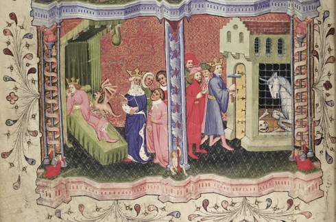 Roman de la Rose_ Page turner_ John Rylands University Library, French 66.png